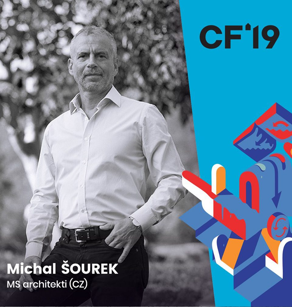 Michal Šourek will introduce the new Prague's Smíchov City district in the first year of the Czech and Slovak CITY FORUM