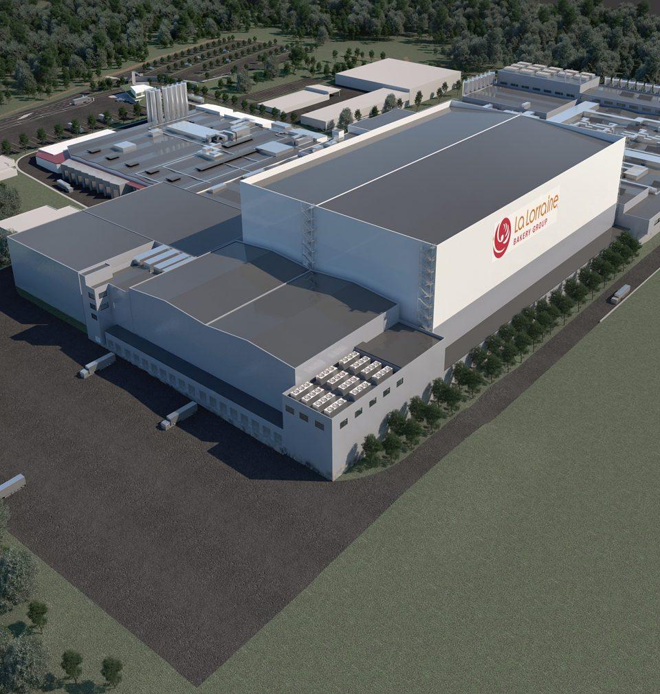 Fotoreport: výstavba technologicky vyspělého areálu podle našeho návrhu a projektu v Kladně pokračuje podle plánu