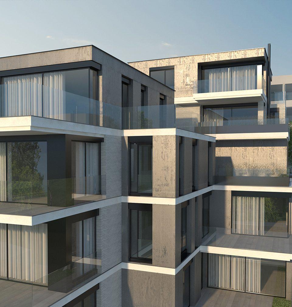 Na pražském Smíchově vyroste podle našeho návrhu a projektu bytový dům K Závěrce