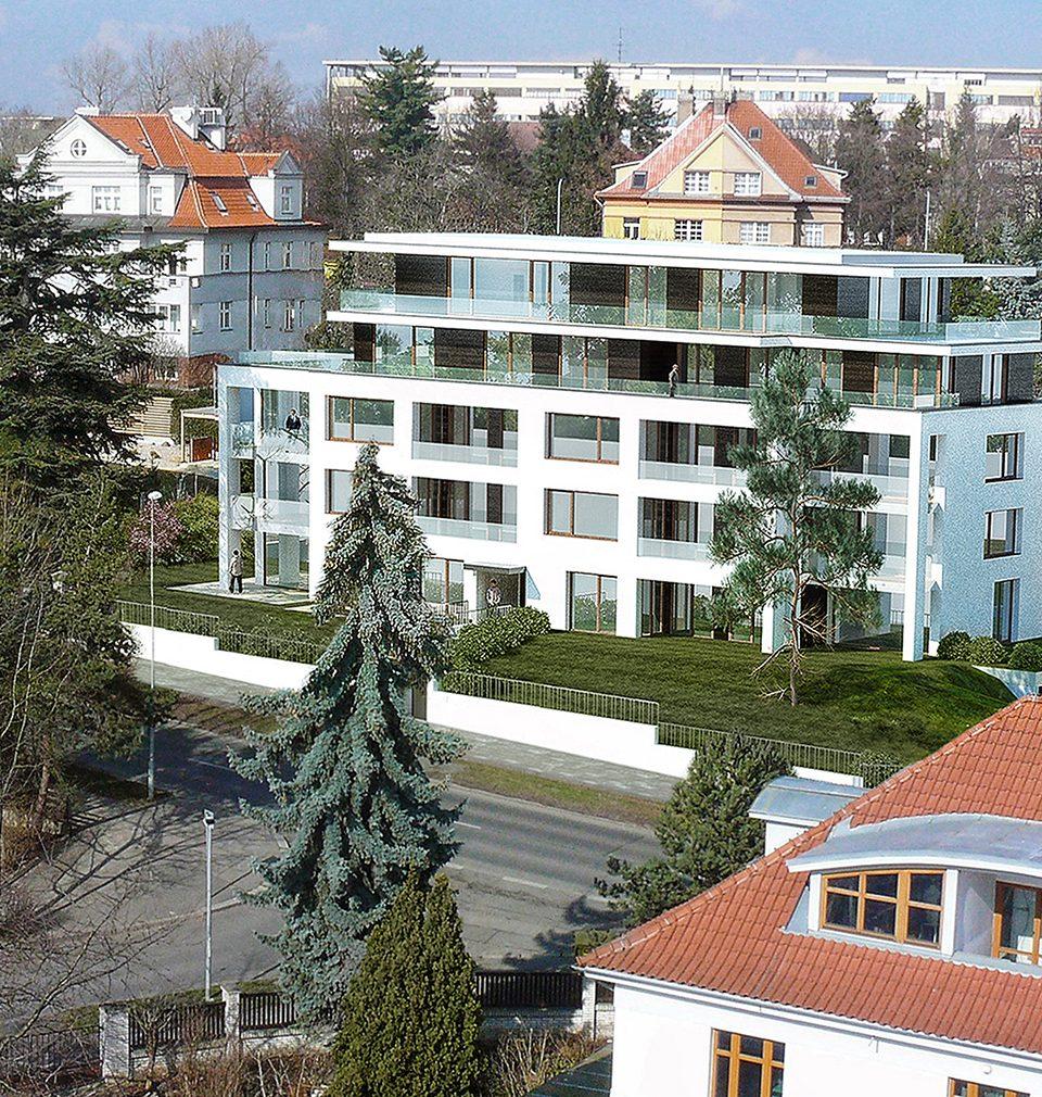 Energeticky pasivní rezidence Červený dvůr nabízí 15 velkorysých bytů