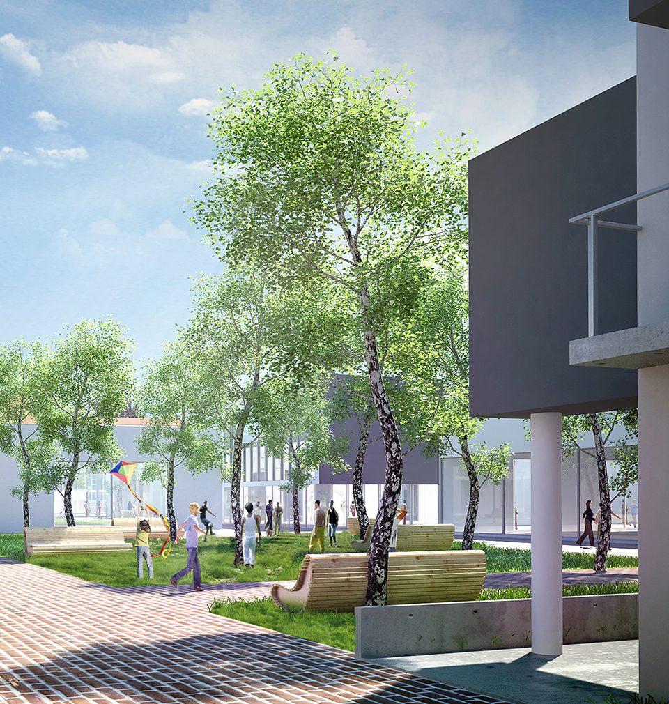Náš návrh a regulační plán revitalizace brownfieldu Perla 01 v Ústí nad Orlicí je jedním ze tří nominovaných projektů na titul Urbanistický projekt roku 2019