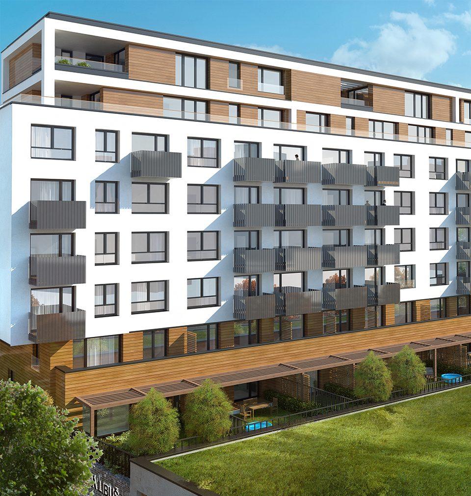 Bytový dům Zelená Libuš podle našeho návrhu a projektu je opět o krok blíž k úspěšné kolaudaci