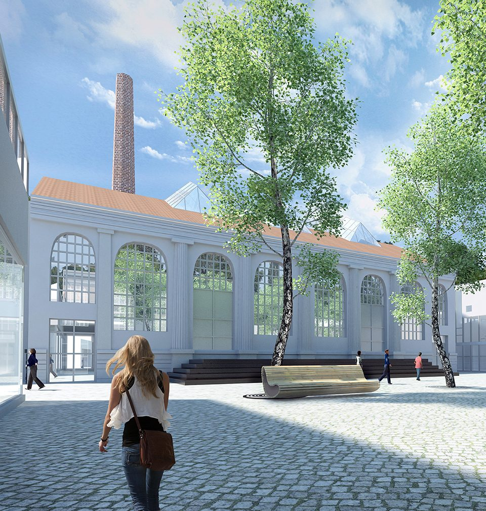 The design and the zoning plan of revitalization of Perla 01, the brownfield in Ústí nad Orlicí competes for the title of the 2019 Urban Project