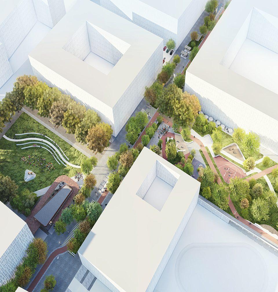 14.10.2019 se v pražském CAMPU můžete seznámit s naším návrhem veřejného prostoru centrální části nového Smíchov City