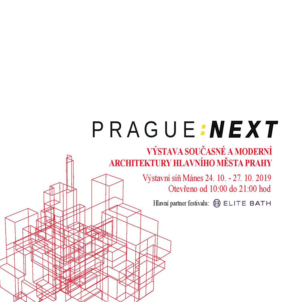 Several implemented projects designed by our studio are a part the exhibition PRAGUE: NEXT in Mánes, Prague.