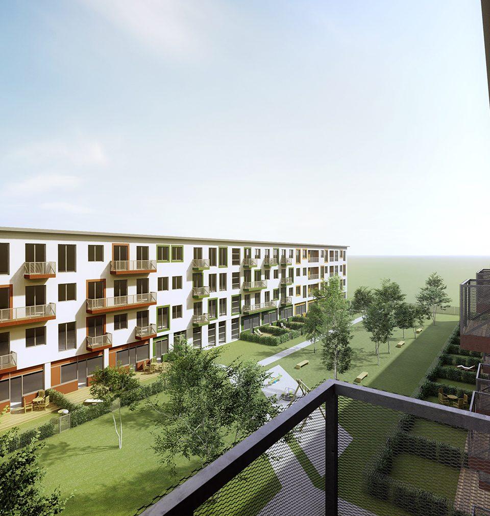 Komplexní přestavba budov bývalé školy na udržitelný rezidenční park Hrabůvka