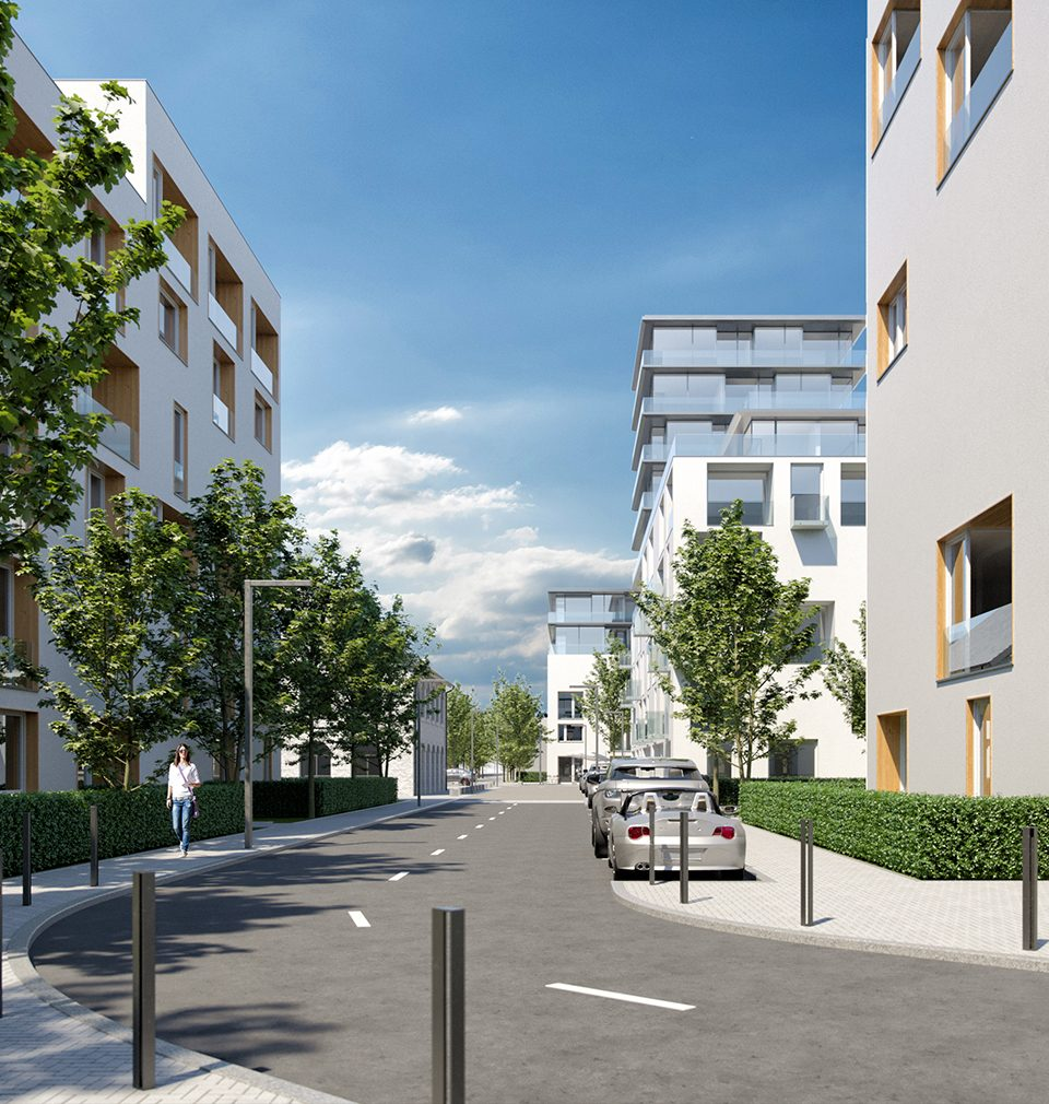 We designed the masterplan of the new Prague district Na Košince