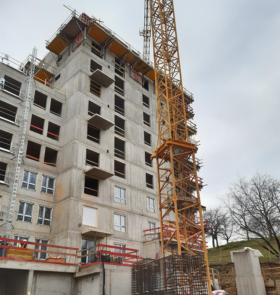 Photoreport from the new Na Vackově quarter constructed by our master plan