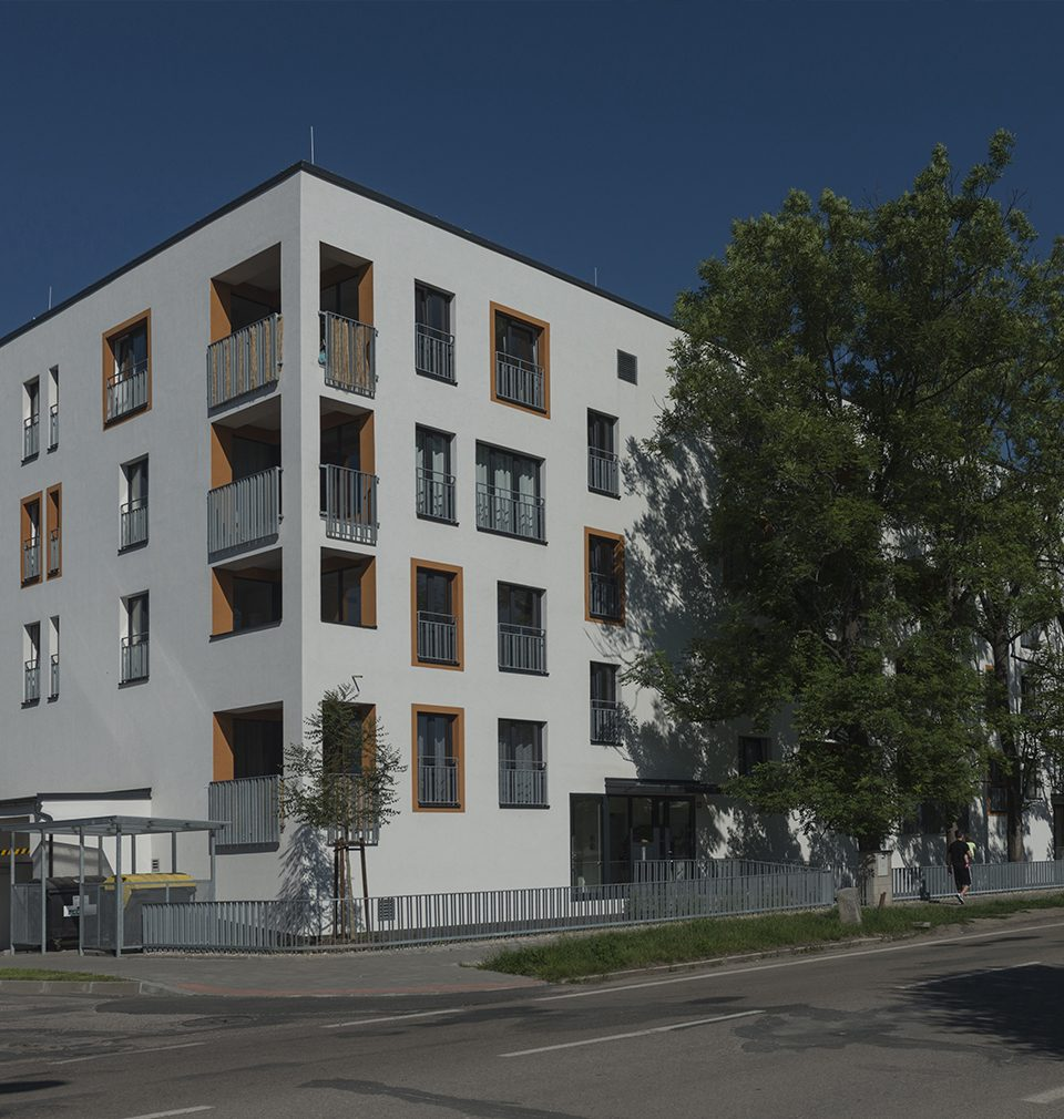 A new building of Šporkův dům is an inseparable part of the residential complex called Zåhrada built based on our master plan