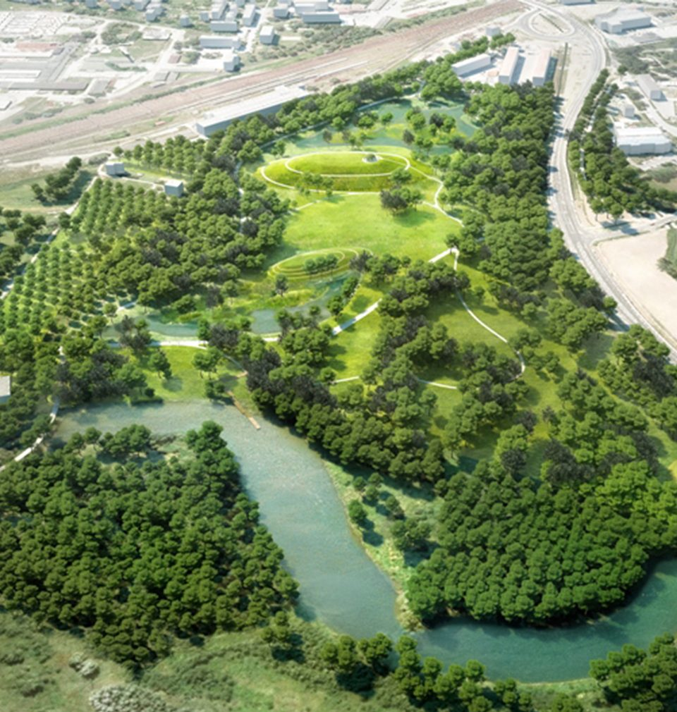 This year in May, the work on an extensive forest park will start in Bohumín in accordance with our study