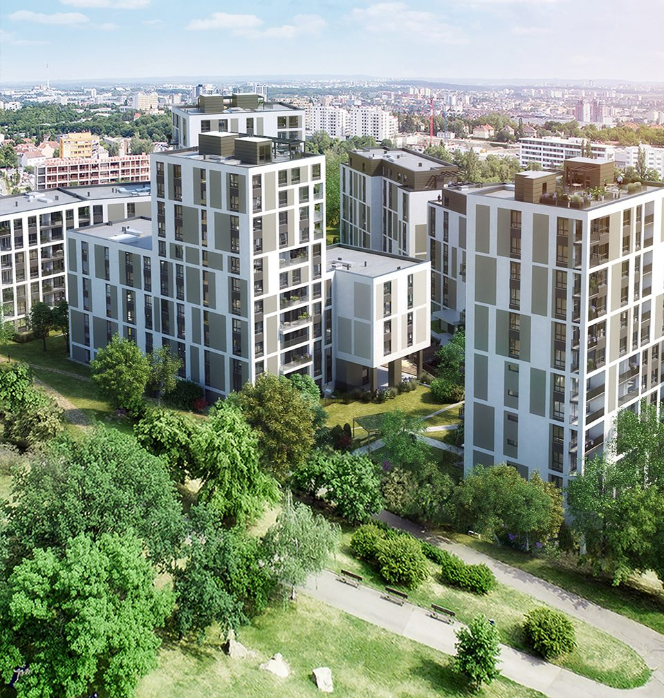 The construction of the new Prague's quarter, Na Vackově, proceeds as planned