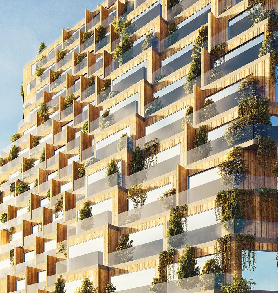 Koncept rezidenčních věží pro Prahu