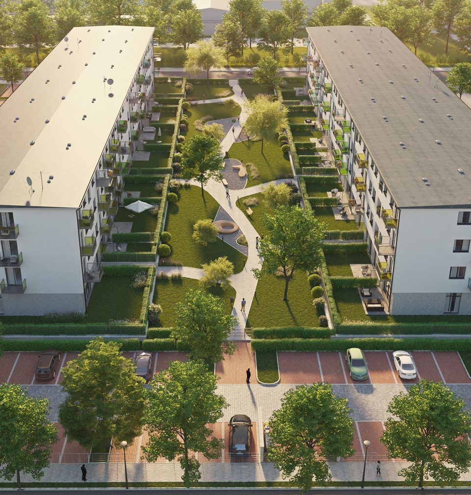 An application was filed for the building permit for Hrabůvka residential park
