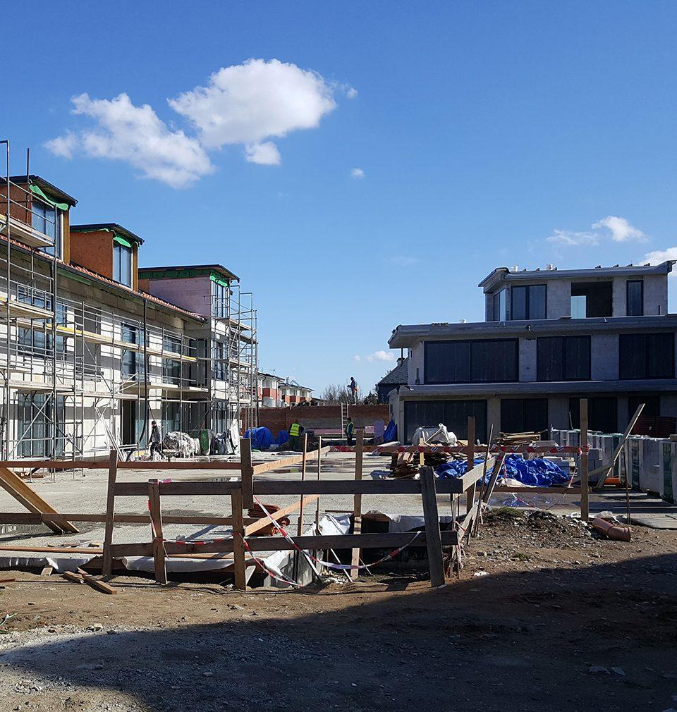 Výstavba na Jinonickém dvoře pokračuje podle plánu