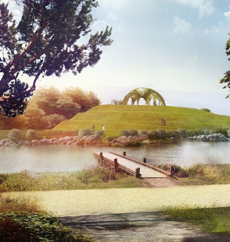Letos začne město Bohumín s realizací rozsáhlého lesoparku podle naší studie