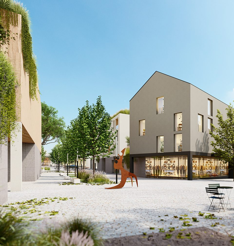 Our design of revitalization of a part of Žďár nad Sázavou near the city centre won the architectural and urban competition