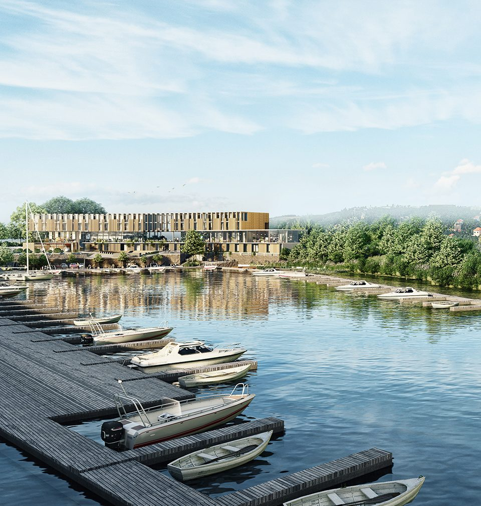 Complete revitalization of the port in Podolí designed by our studio