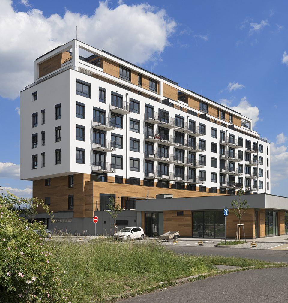 Bytový dům zelená Libuš podle našeho návrhu a projektu usiluje o titul Stavba roku 2020