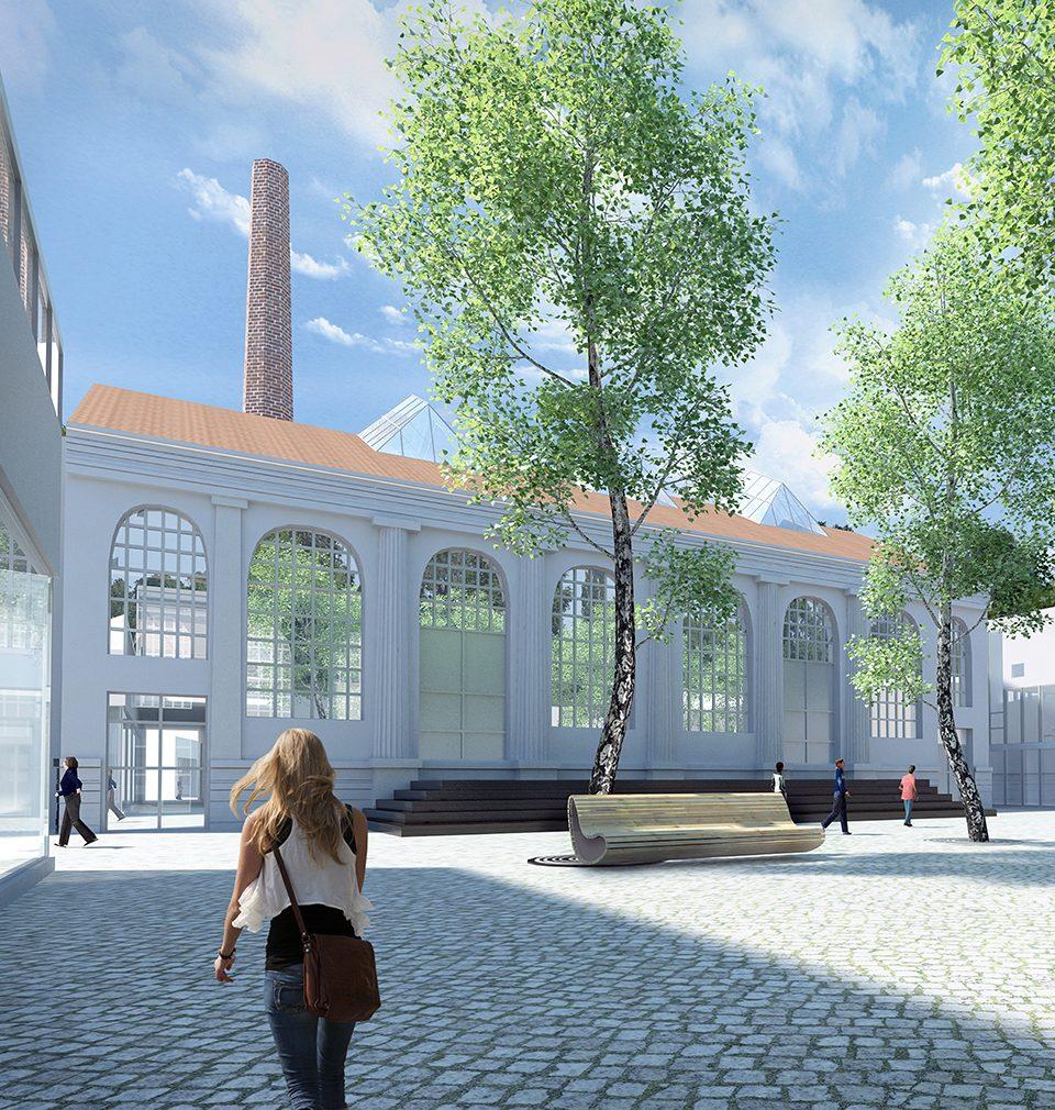 Regenerace brownfieldu veřejným prostorem: revitalizace areálu Perla 01 v Ústí nad Orlicí – Michal Šourek