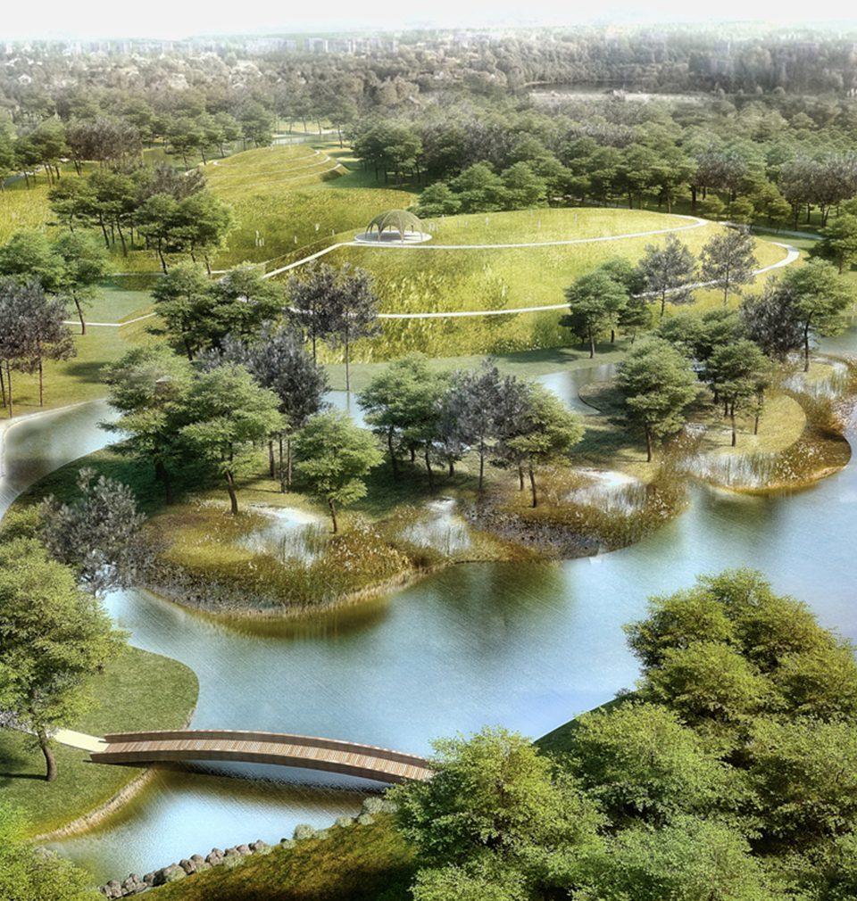 Město Bohumín začalo s výstavbou nového lesoparku podle našeho návrhu