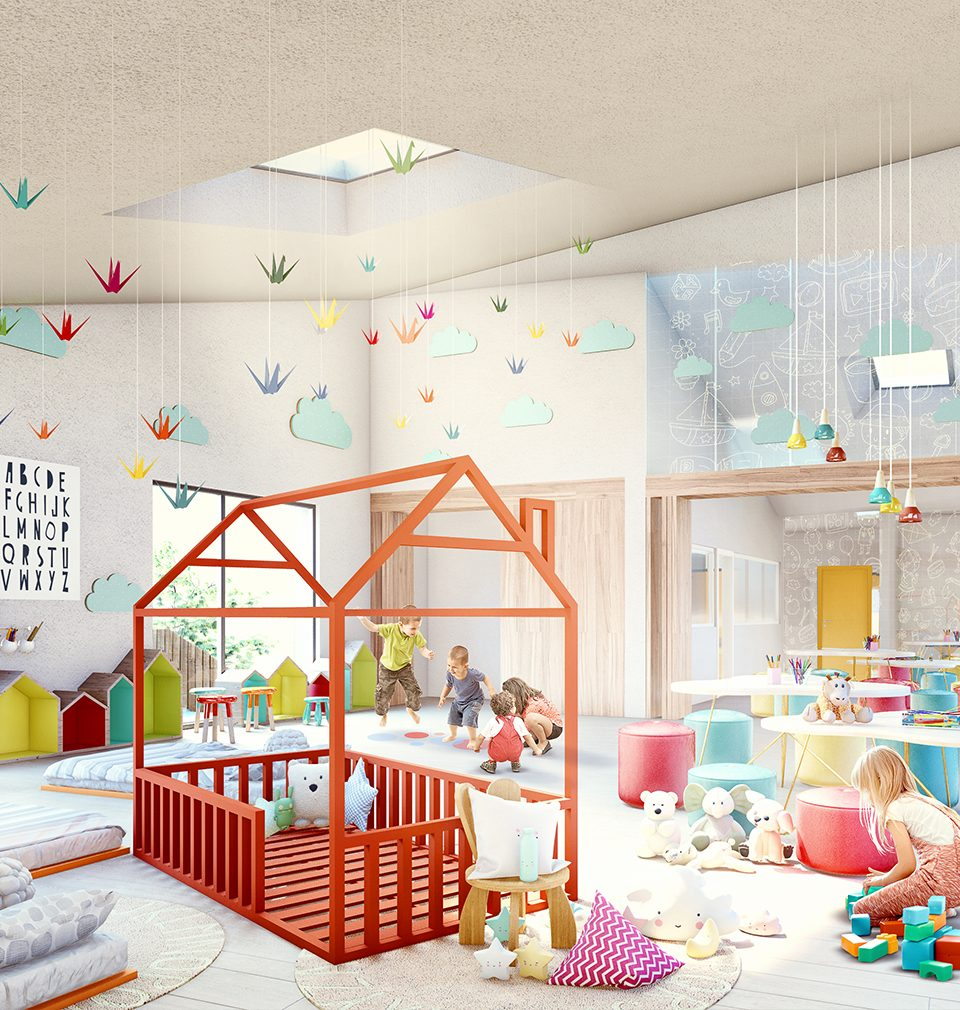 Navrhli jsme novou mateřskou školu v Českém Brodě