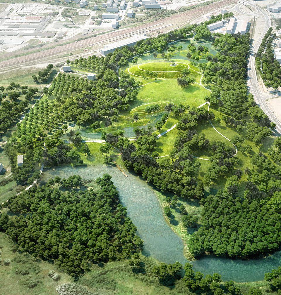 EARCH píše: Město Bohumín začalo s realizací lesoparku Na Panském podle návrhu atelieru MS plan