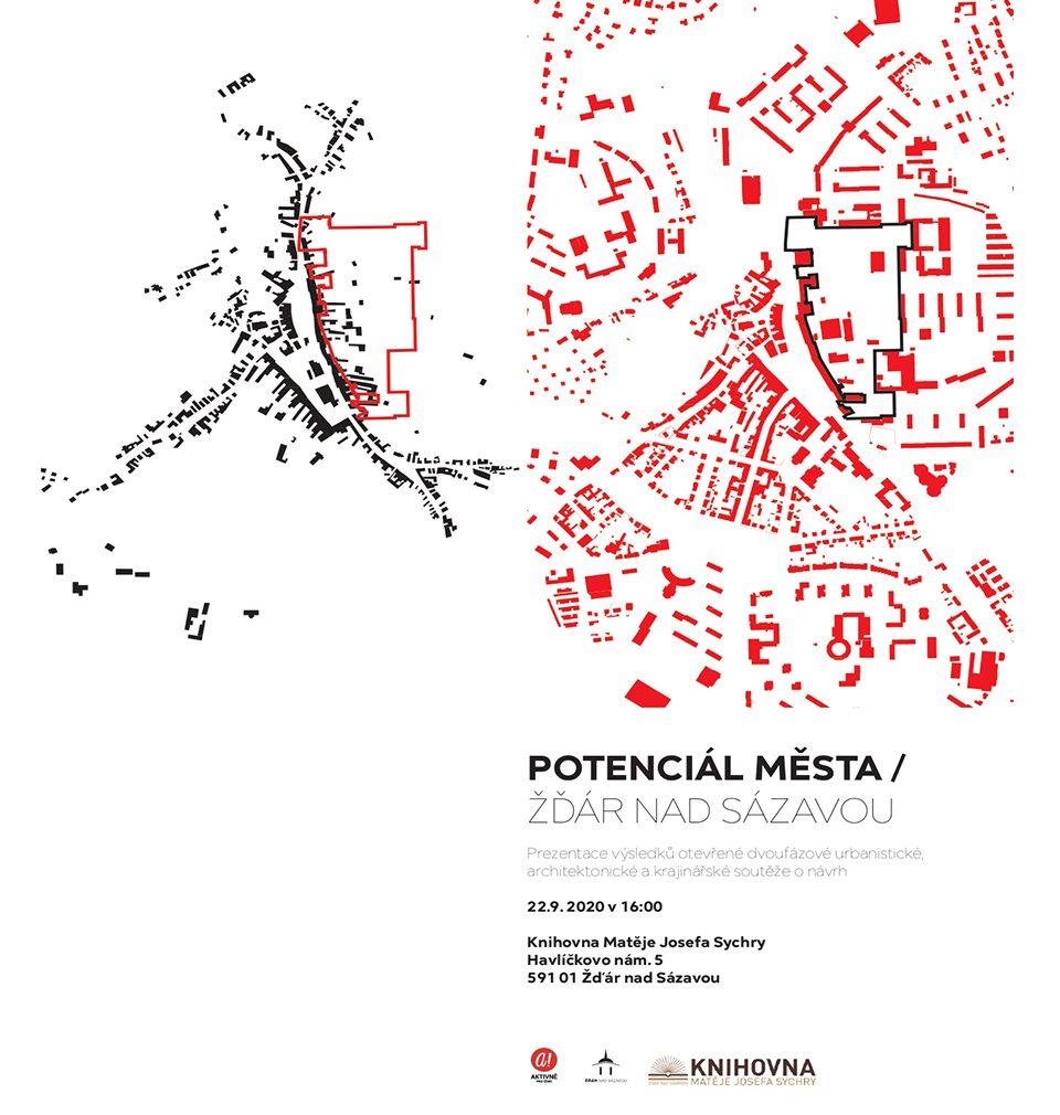 22.9.2020 představíme veřejnosti a obyvatelům města Žďár nad Sázavou náš vítězný návrh revitalizace a rozvoje východní části města