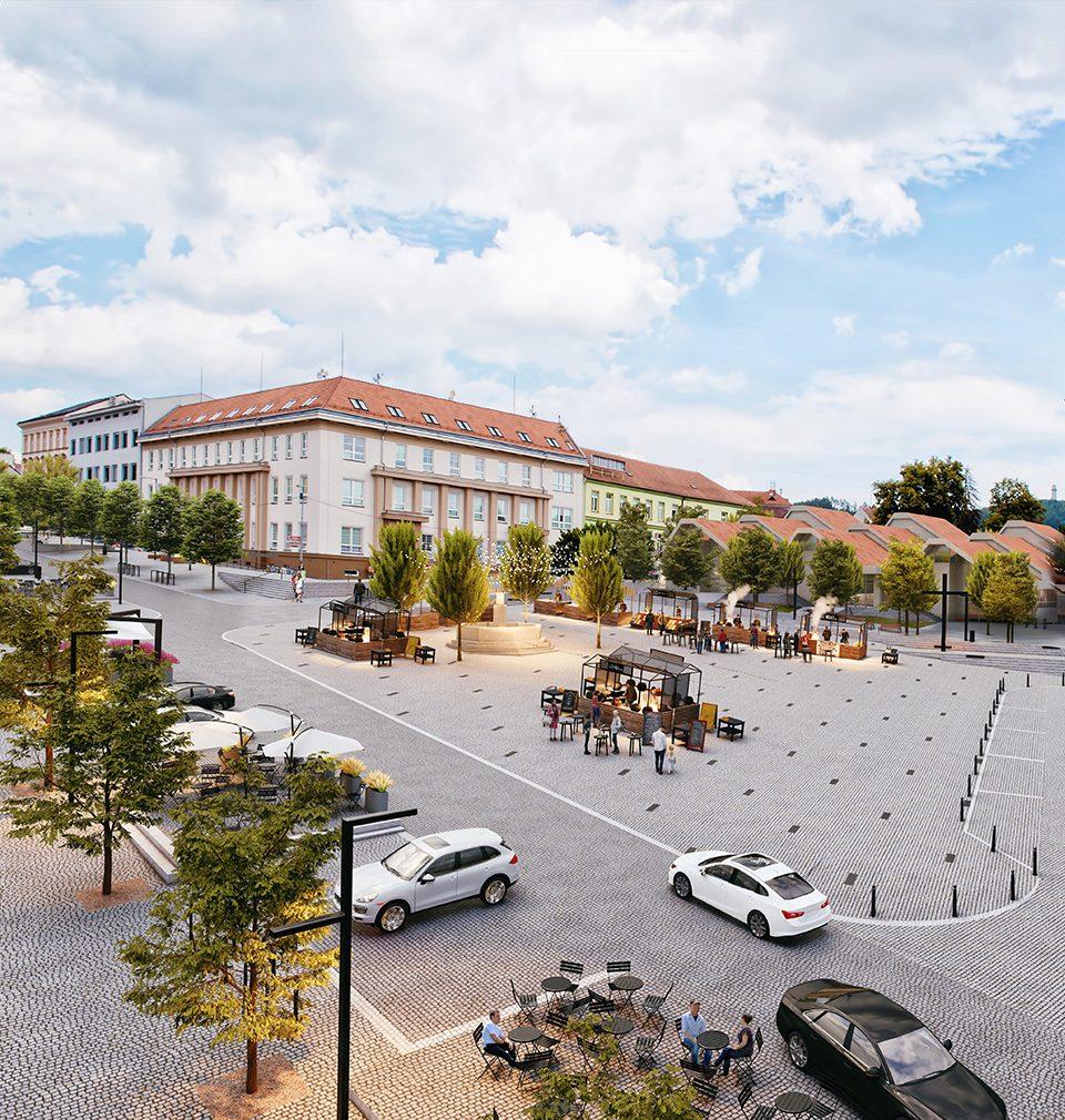 Zveme Vás do Tišnova na výstavu soutěžních návrhů revitalizace náměstí Míru