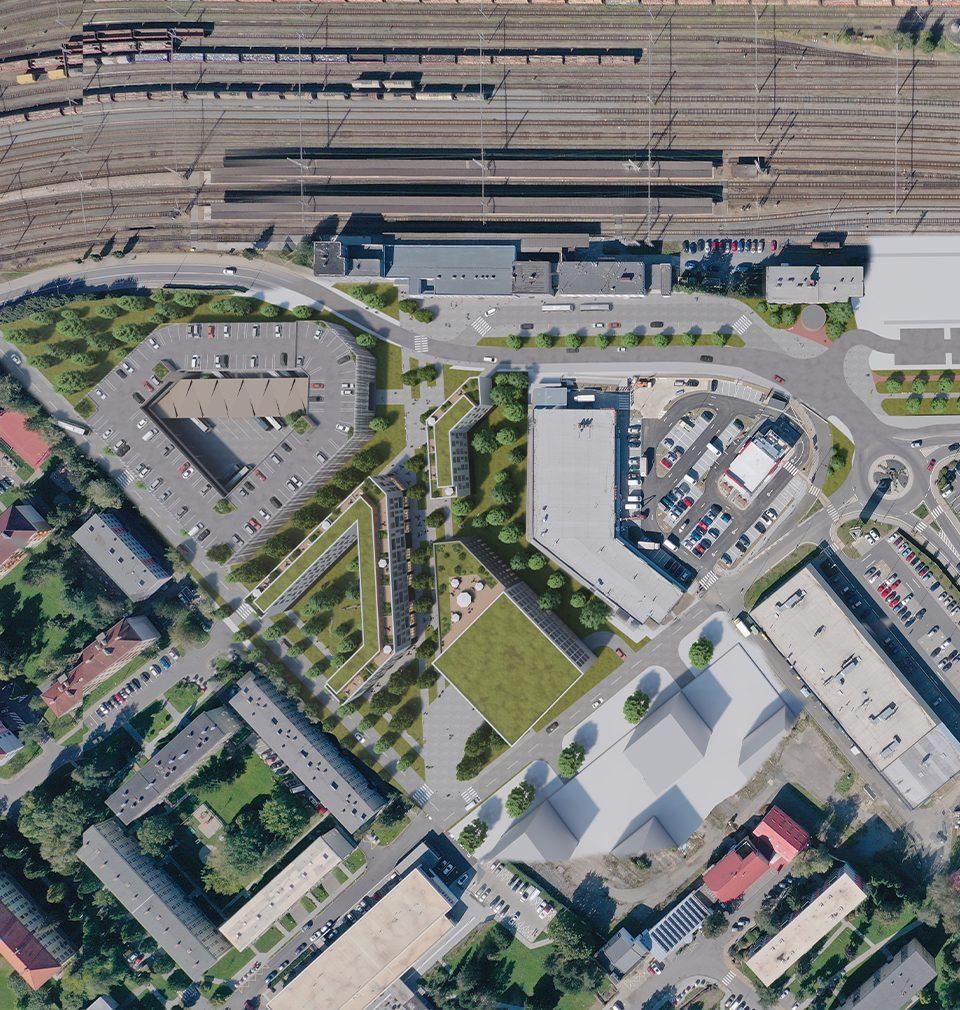 Získali jsme druhé místo v architektonicko-urbanistické soutěži o návrh revitalizace a doplnění areálu bývalé Křižanovy pily ve Valašském Meziříčí