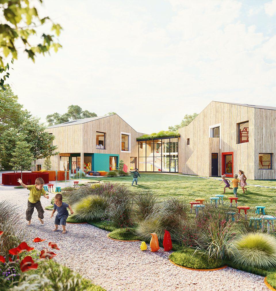 Future preschoolers in Český Brod can look forward to a new kindergarten