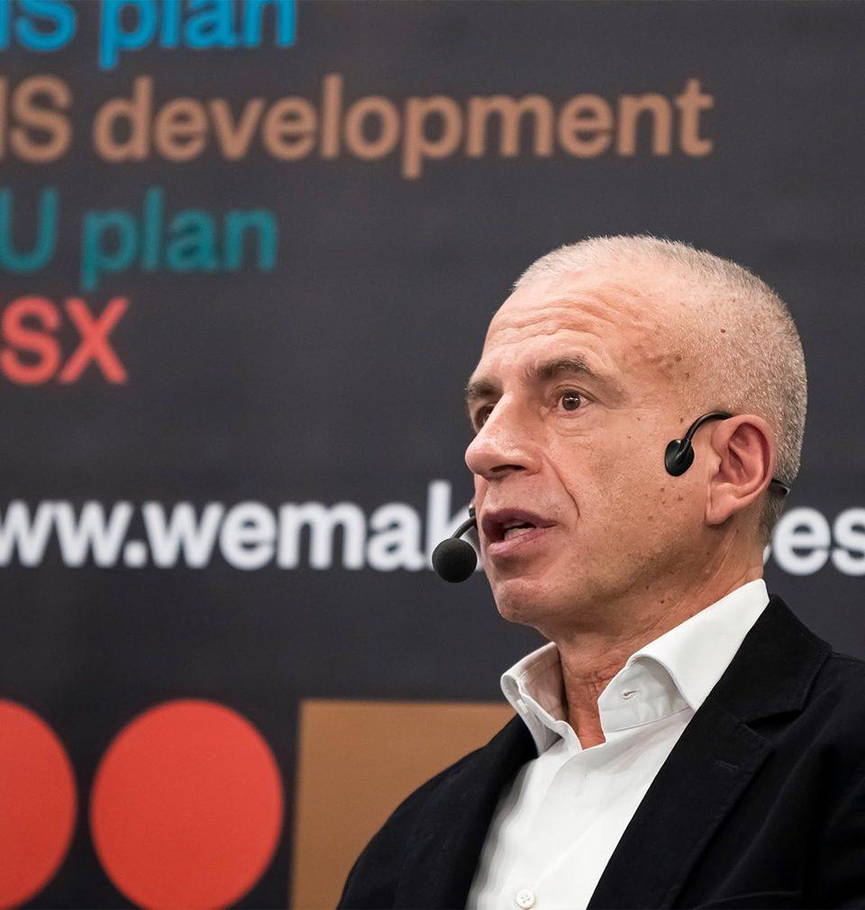 Michal Šourek byl aktivním účastníkem na adventním diskusním setkání Stavebního fóra