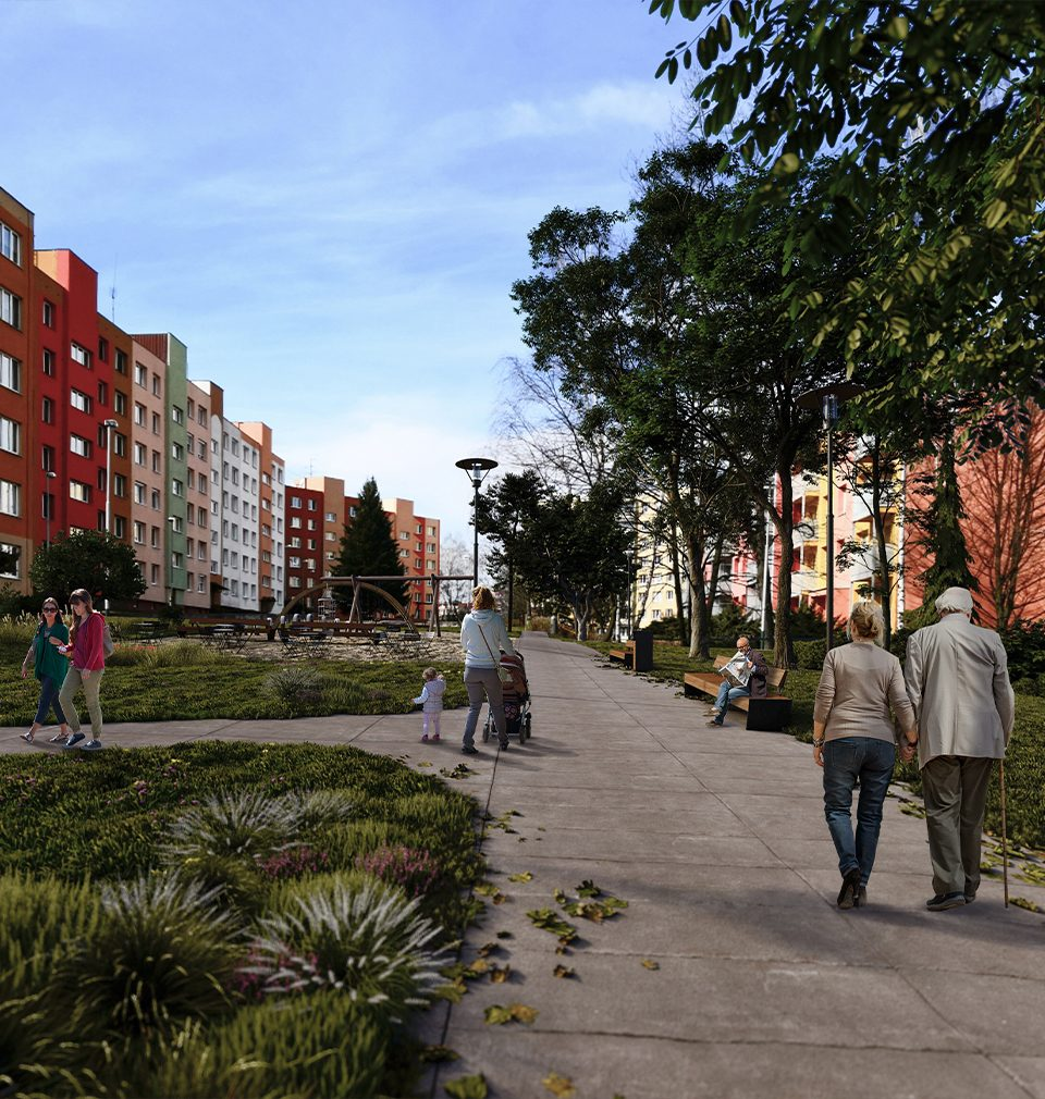 19.1.2021 proběhlo úspěšné veřejné projednání našeho návrhu rozvoje a revitalizace VIII. stavebního obvodu Poruba a lokality Nového Pustkovce v Ostravě