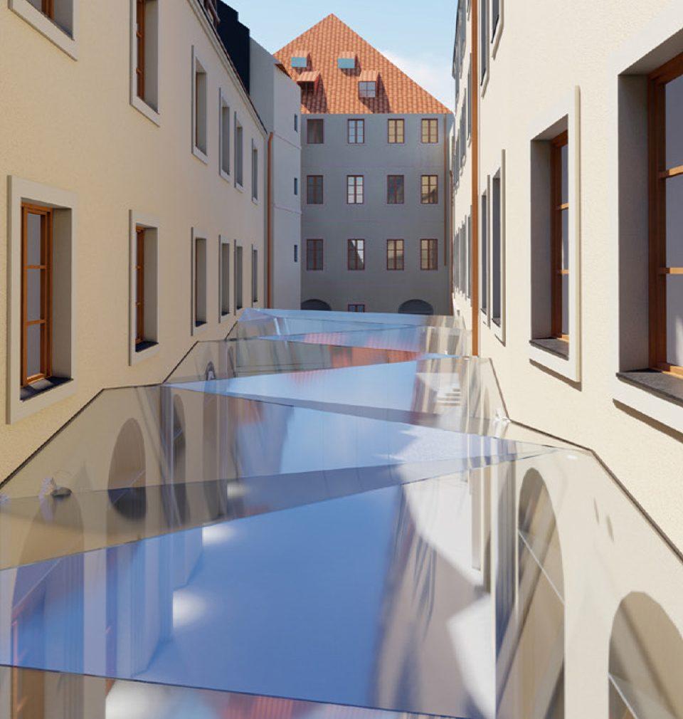 Podle našeho návrhu a projektu vzniká na Staroměstském náměstí nejočekávanější pražský hotel