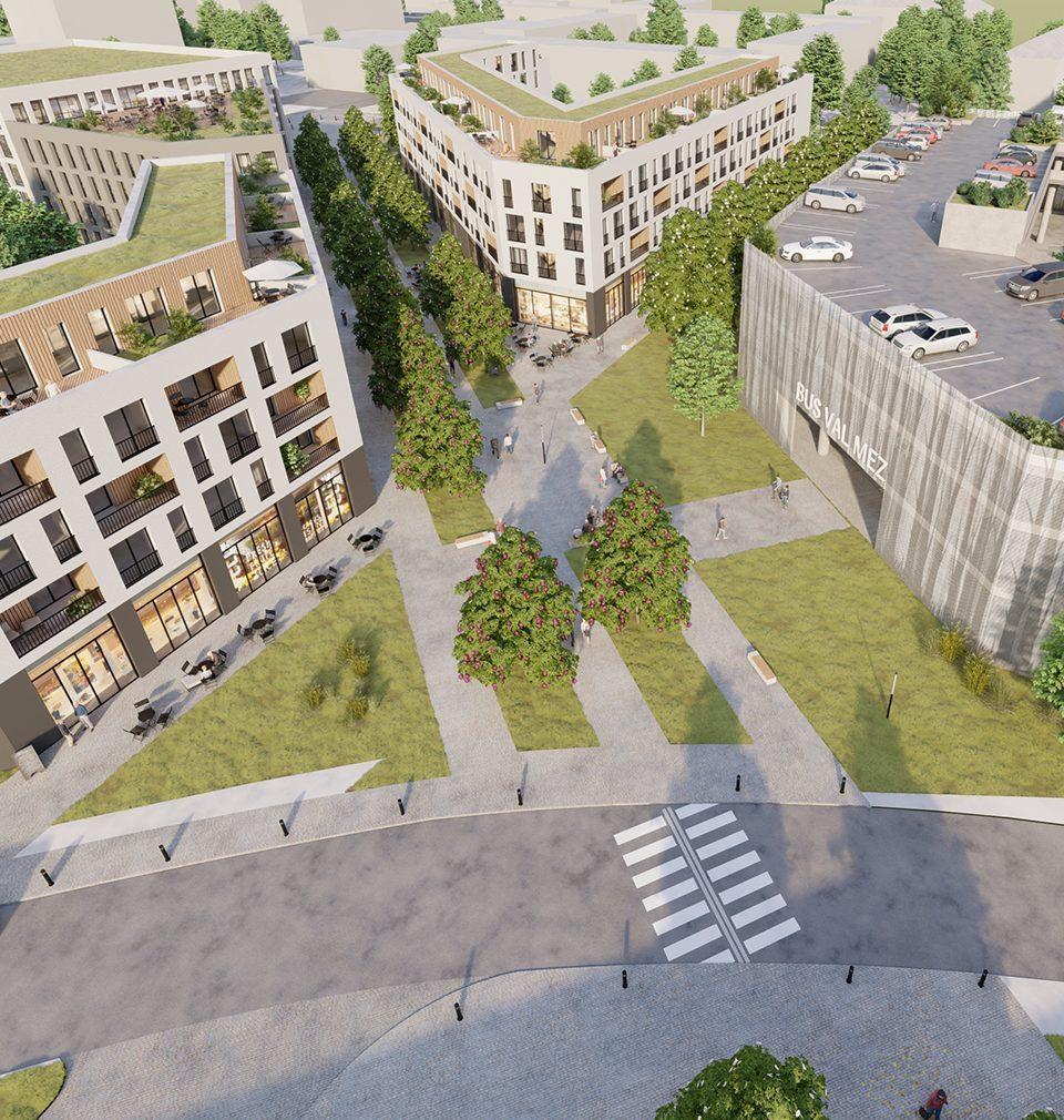 Získali jsme druhé místo v architektonicku-urbanistické soutěži