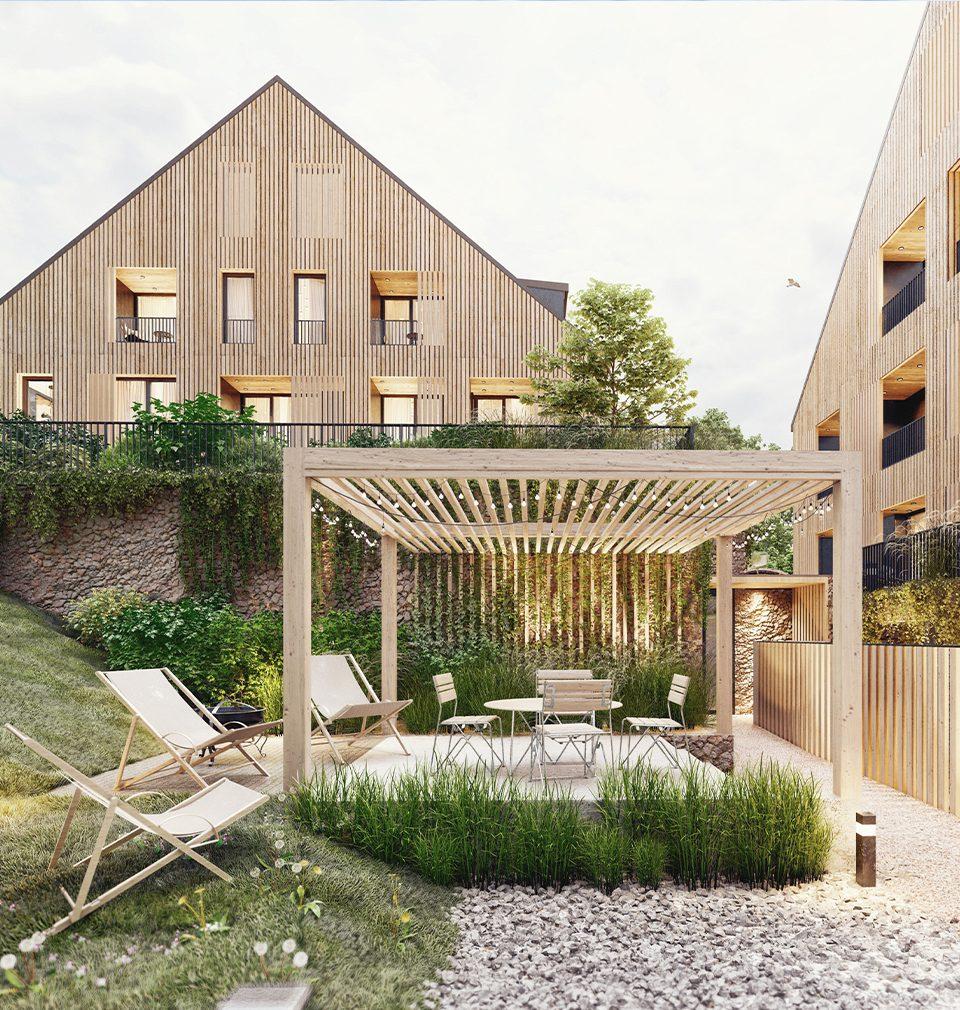 Už letos bude zahájena výstavba penzionu Kvilda podle našeho návrhu a projektu