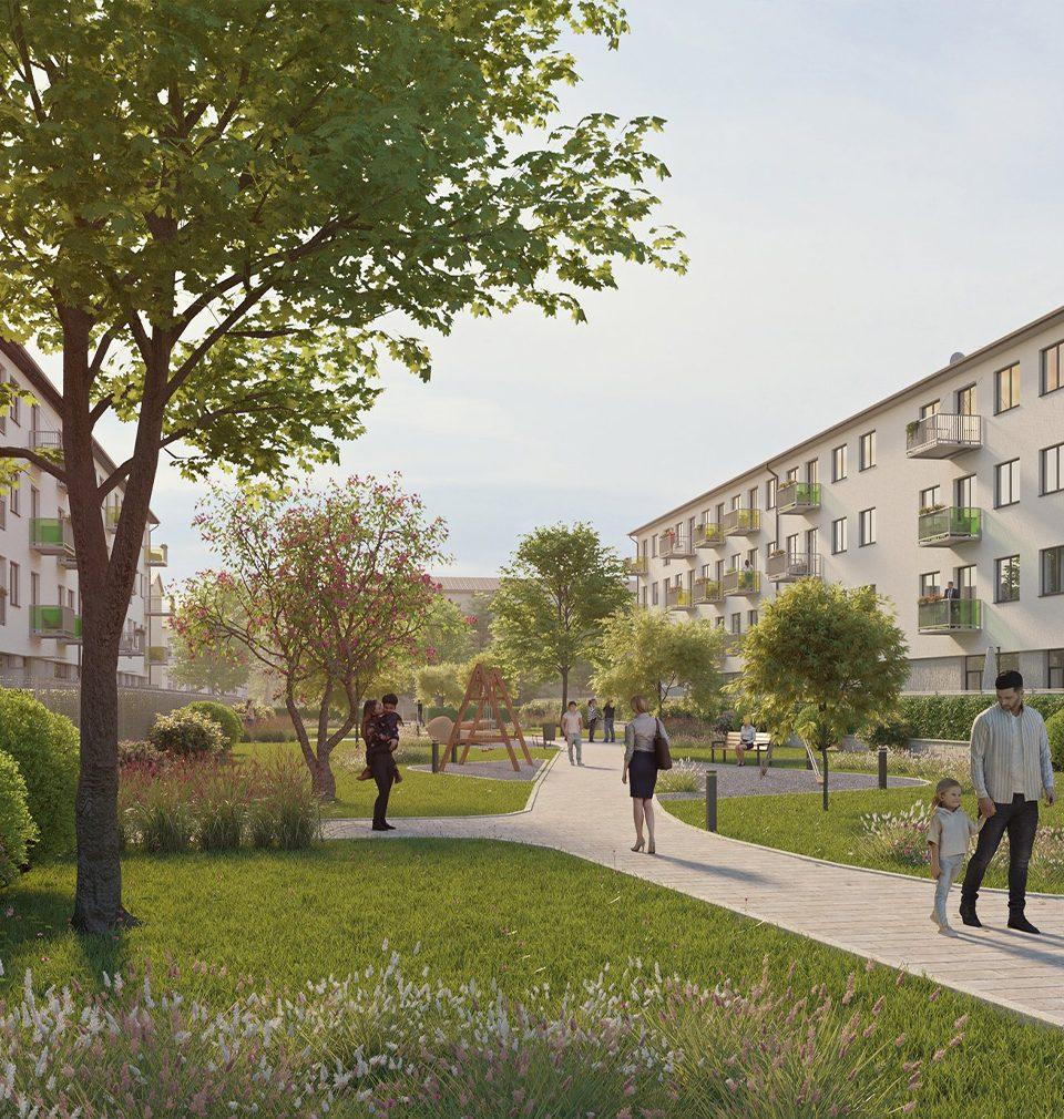 V Ostravě byla zahájena přestavba budov bývalé školy na komfortní bydlení podle našeho návrhu