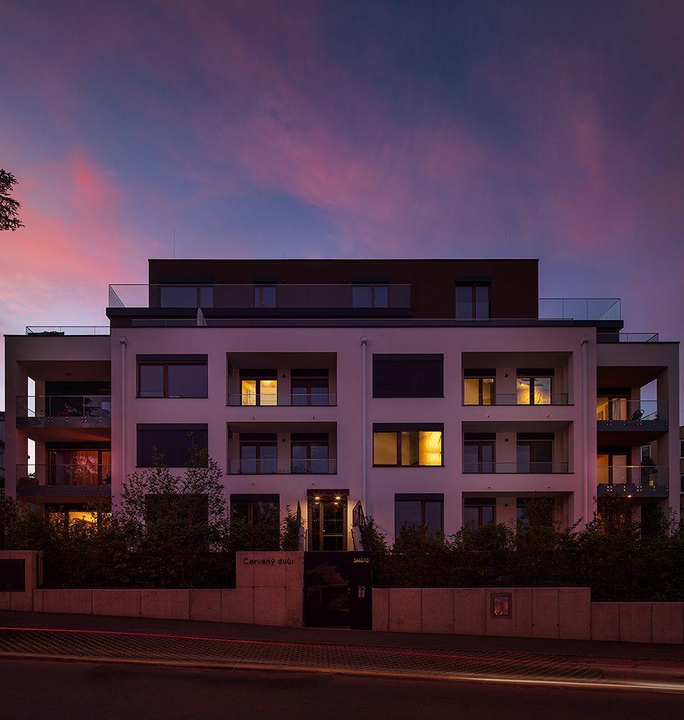 Rezidence Červený dvůr podle našeho návrhu a projektu obsadila 3. místo v prestižní soutěži Best of Realty — Nejlepší z realit