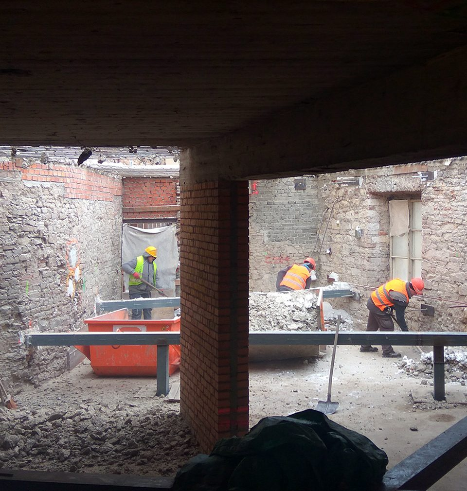 Construction continues on our design for highly anticipated Prague hotel