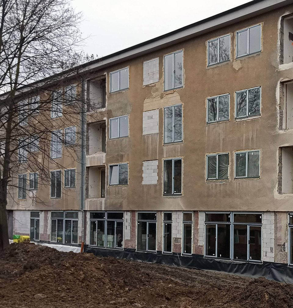 Former school buildings become new housing in Ostrava