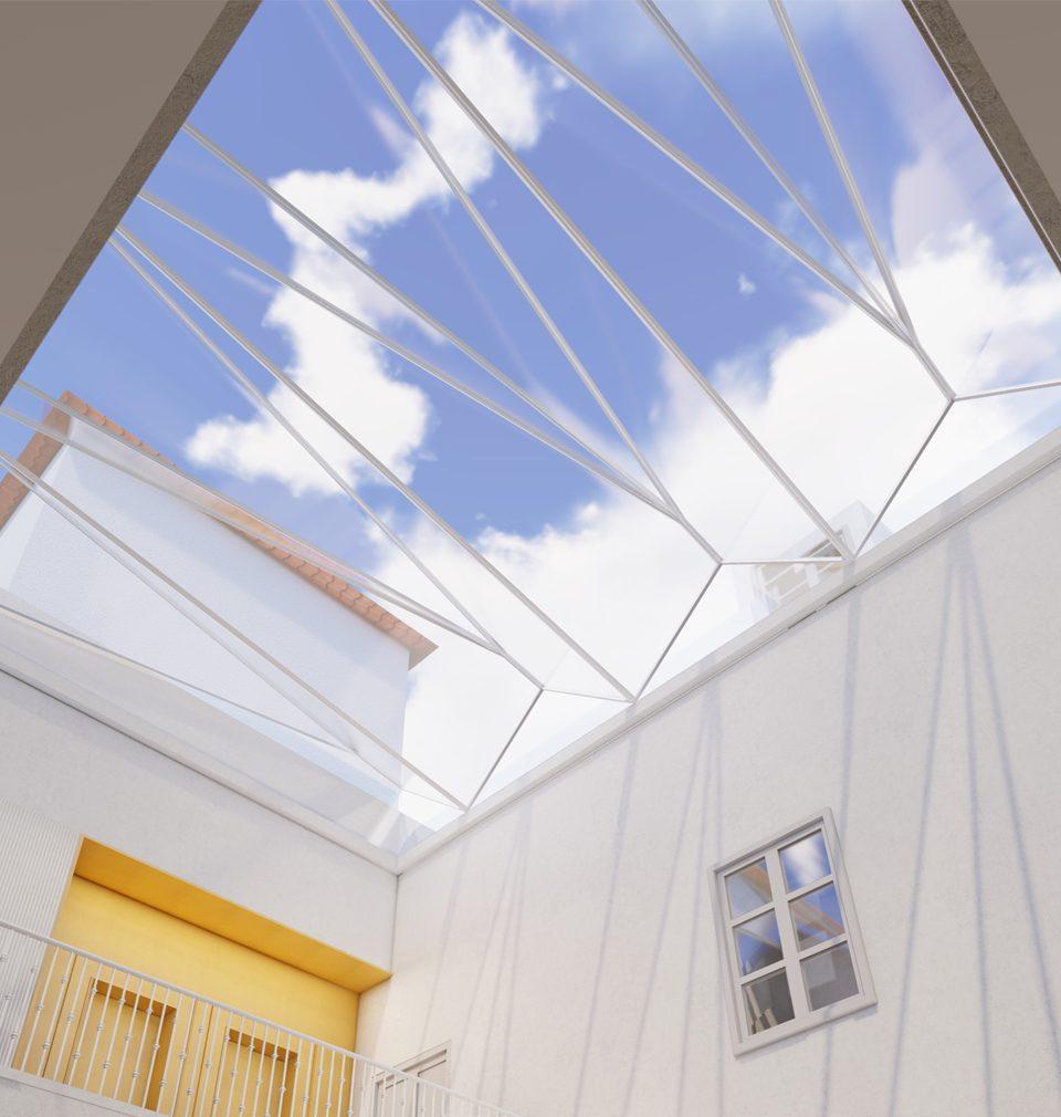 Do interiérů luxusního hotelu v centru Prahy jsme zakomponovali historické, architektonické prvky a elementy