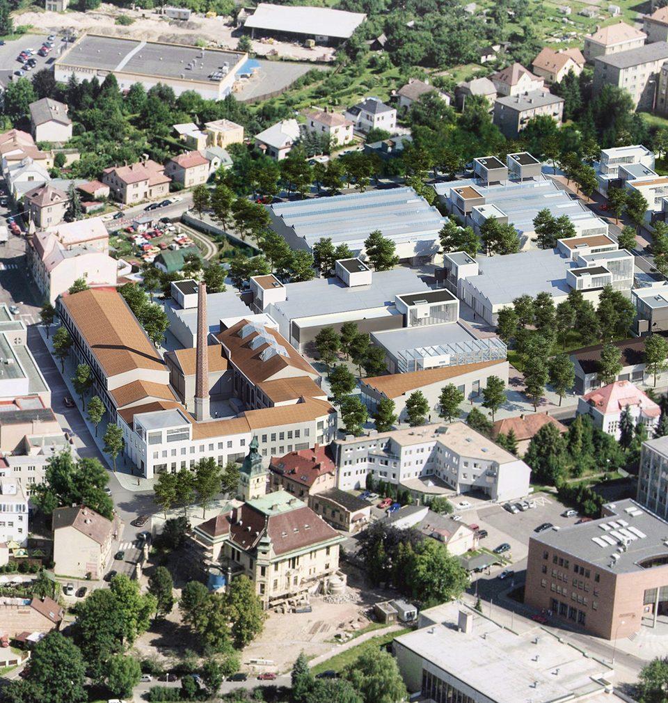 Dům dětí a mládeže v Ústí nad Orlicí podle našeho návrhu poprvé otevře své dveře už letos v září