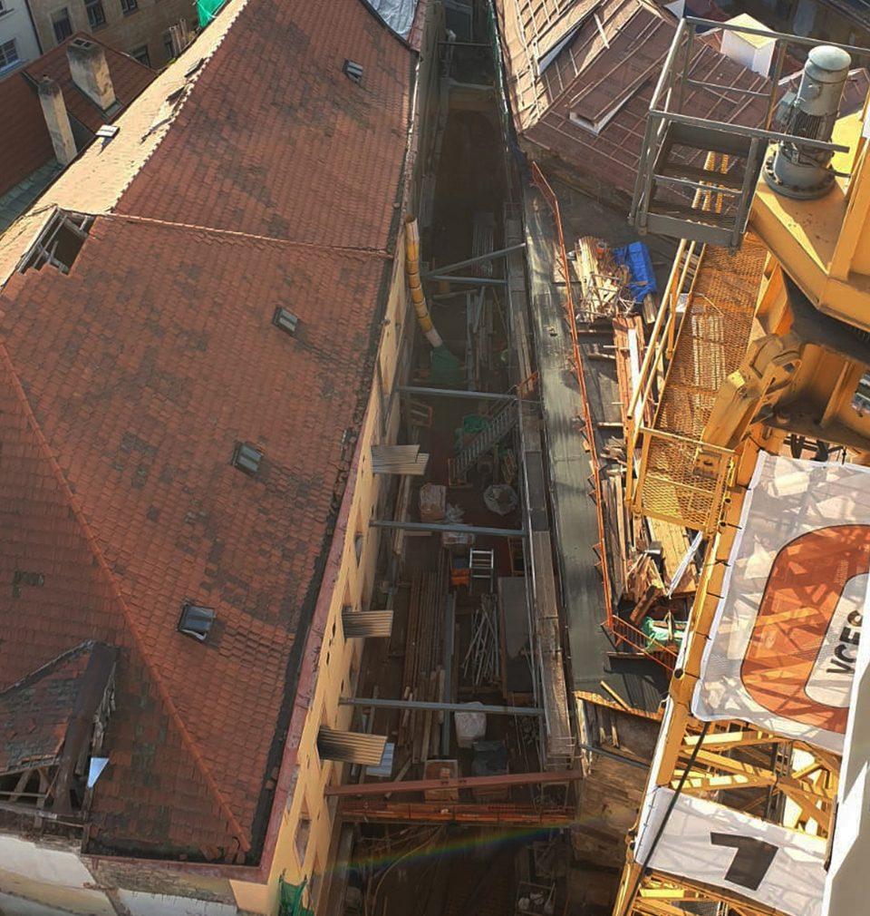 V rukou našeho týmu architektů ožívá Sixtův palác na Staroměstském náměstí