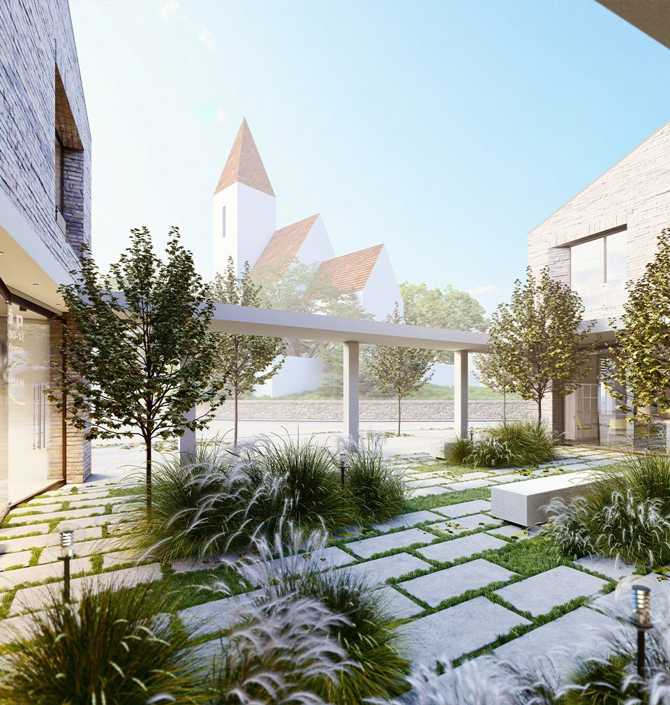 We invite you to Hovorčovice to an exhibition of proposals for the new Town Hall