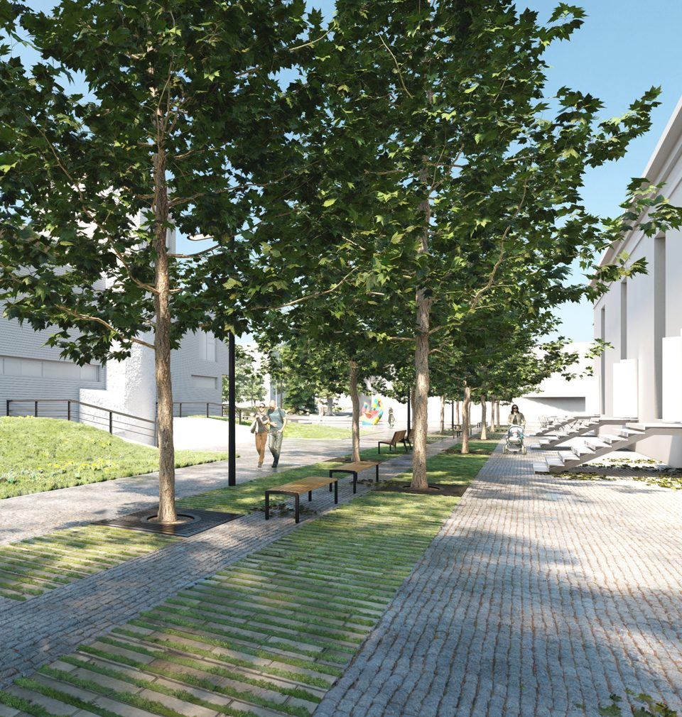 Public space next to new Childrens Centre will come to life at the Sculpture Line Festival