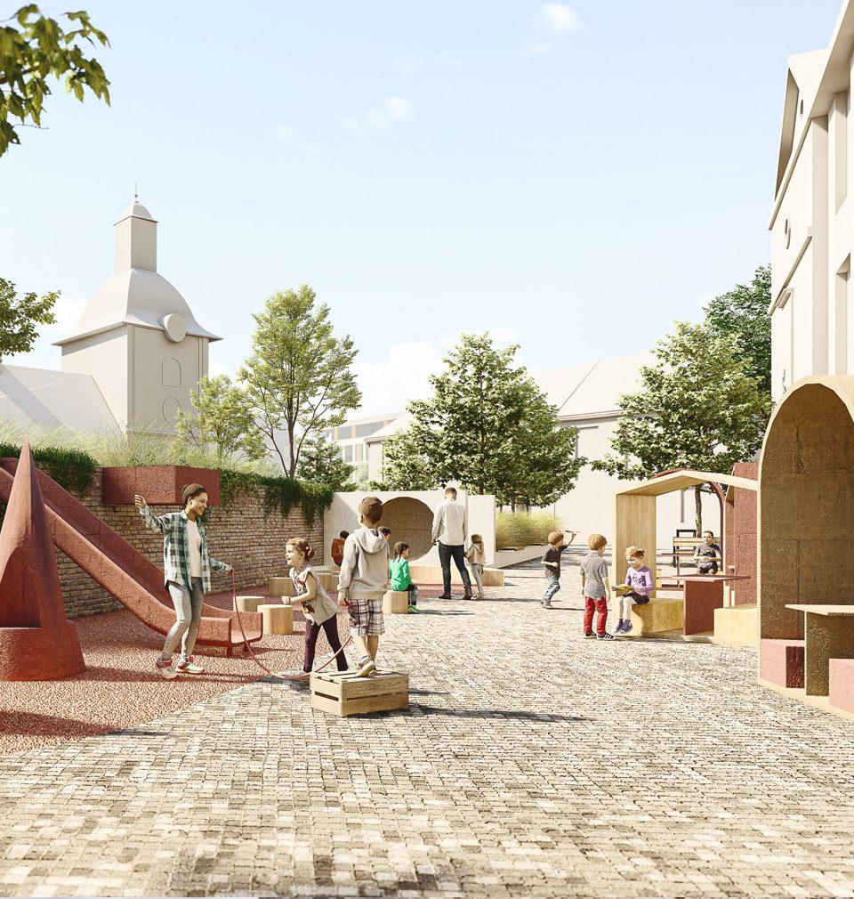 Návrh regenerace Jiráskova náměstí v Kolíně a jeho citlivé doplnění v historické stopě nám přinesl třetí místo v soutěži
