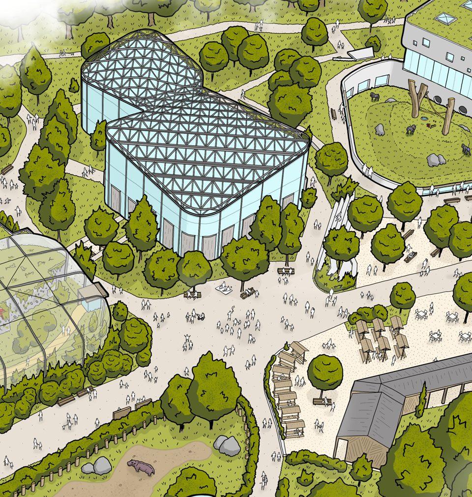 Navrhli jsme revitalizaci a rozšíření jedné z nejnavštěvovanějších zoo v Česku
