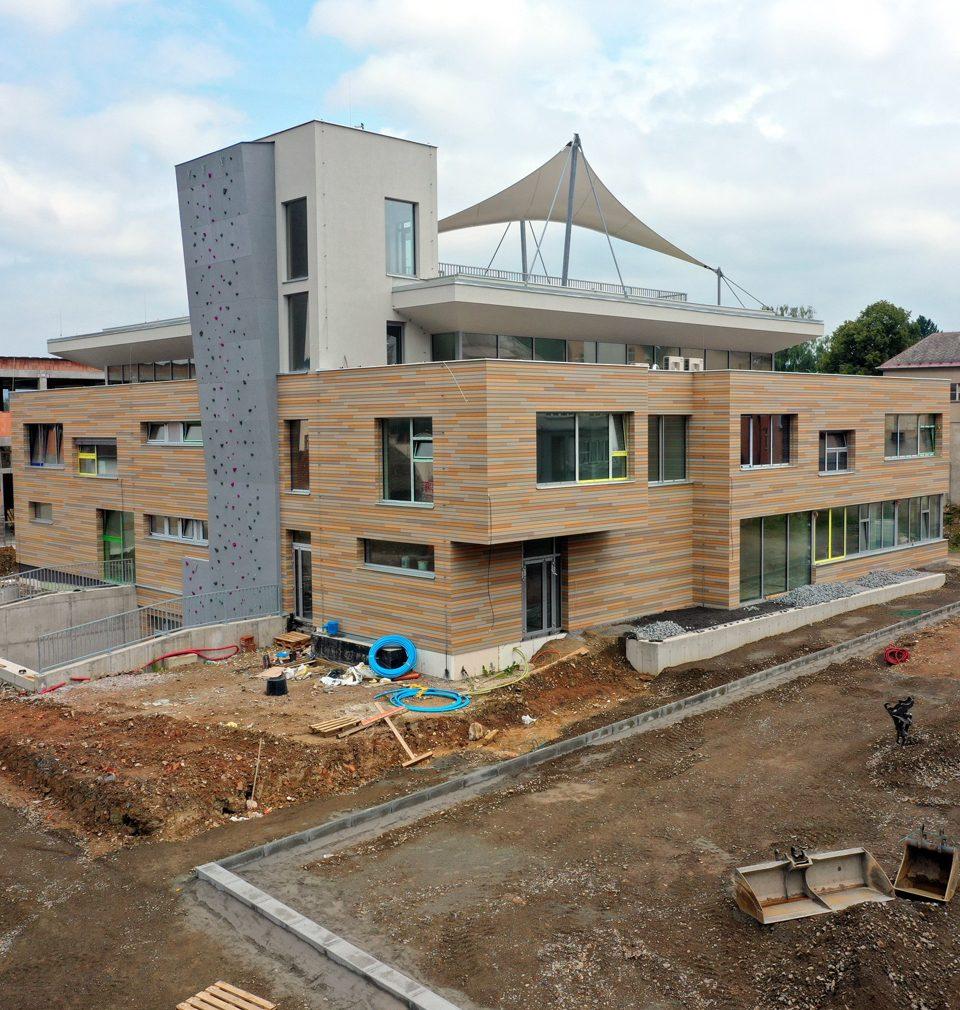 Dům dětí a mládeže v Ústí nad Orlicí je téměř hotový