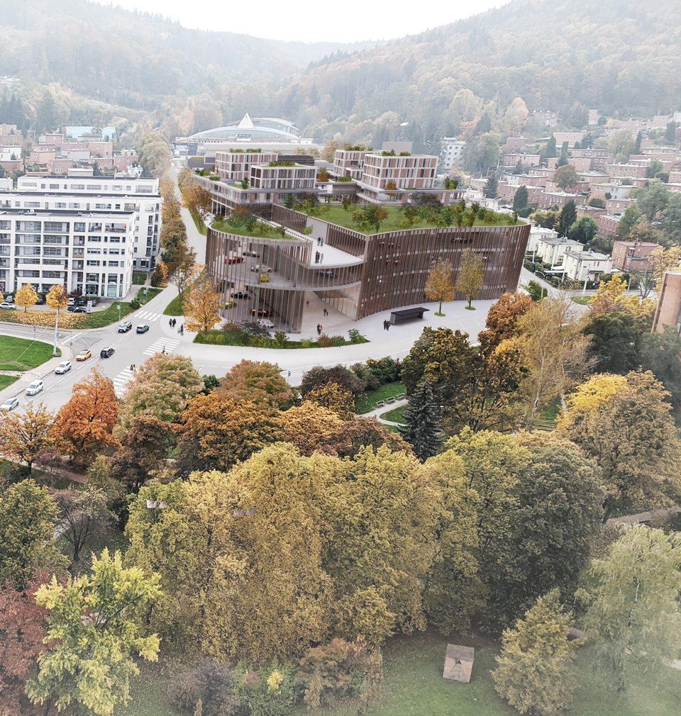 Navrhli jsme novou rezidenční čtvrť pro město Zlín
