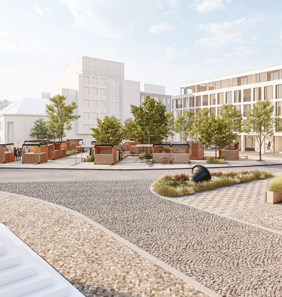 Návrh revitalizace Jiráskova náměstí v Kolíně nám přinesl 3. místo v architektonicko-urbanistické soutěži