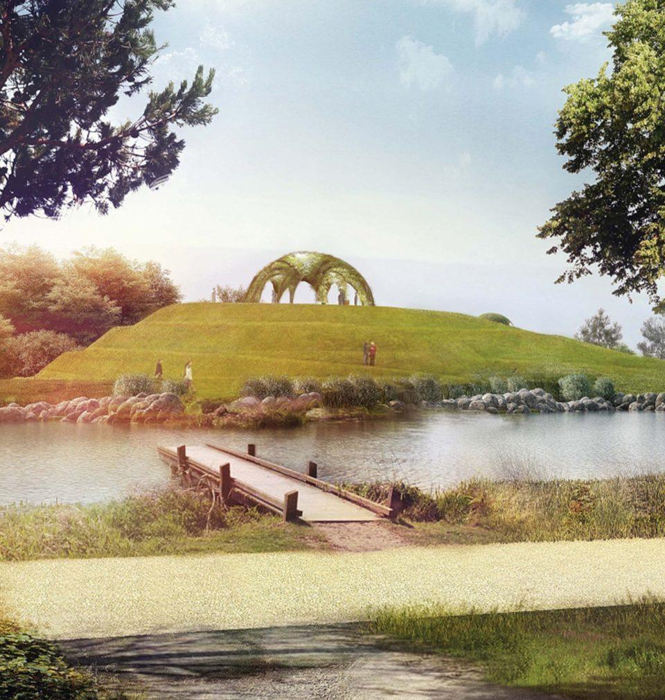 Pro město Bohumín jsme navrhli sympatický lesopark